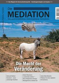 Cover einer Zeitschrift zum Thema Veränderung - Bild auf Steinbeis-mediation.com