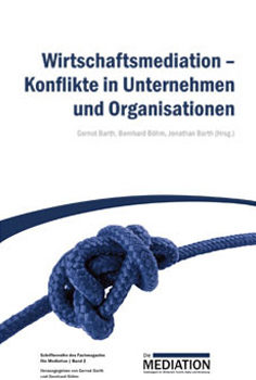 Cover einer Zeitschrift zum Thema Wirtschaftsmediation - Bild auf Steinbeis-mediation.com