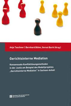 Cover einer Zeitschrift zum Thema Gerichtsinterne Mediation - Bild auf Steinbeis-mediation.com
