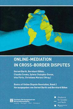 Cover einer Zeitschrift zum Thema Online-Mediation - Bild auf Steinbeis-mediation.com