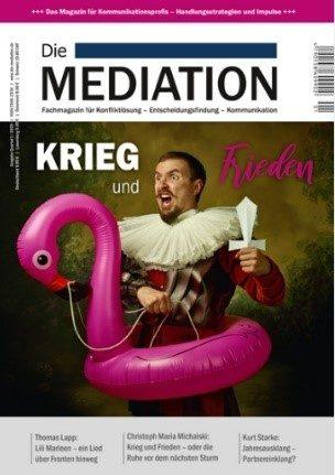 Artikel Fachmagazin - Die Mediation